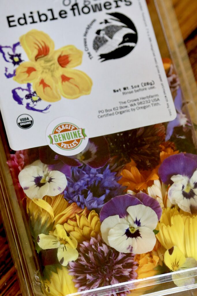 Edible Flowers Mix from the Crows Farm in the Skagit Valley