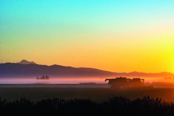 Sunrise over the Skagit Valley