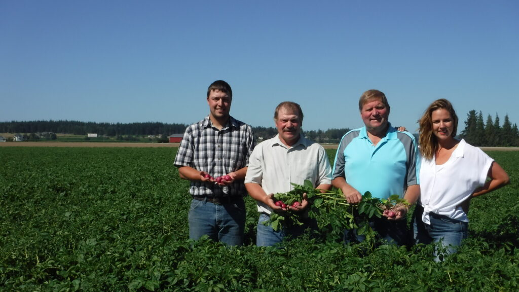 Tara Cunningham, Sales & Marketing Washington Lettuce & Vegetable Co. and Hughes Farms
