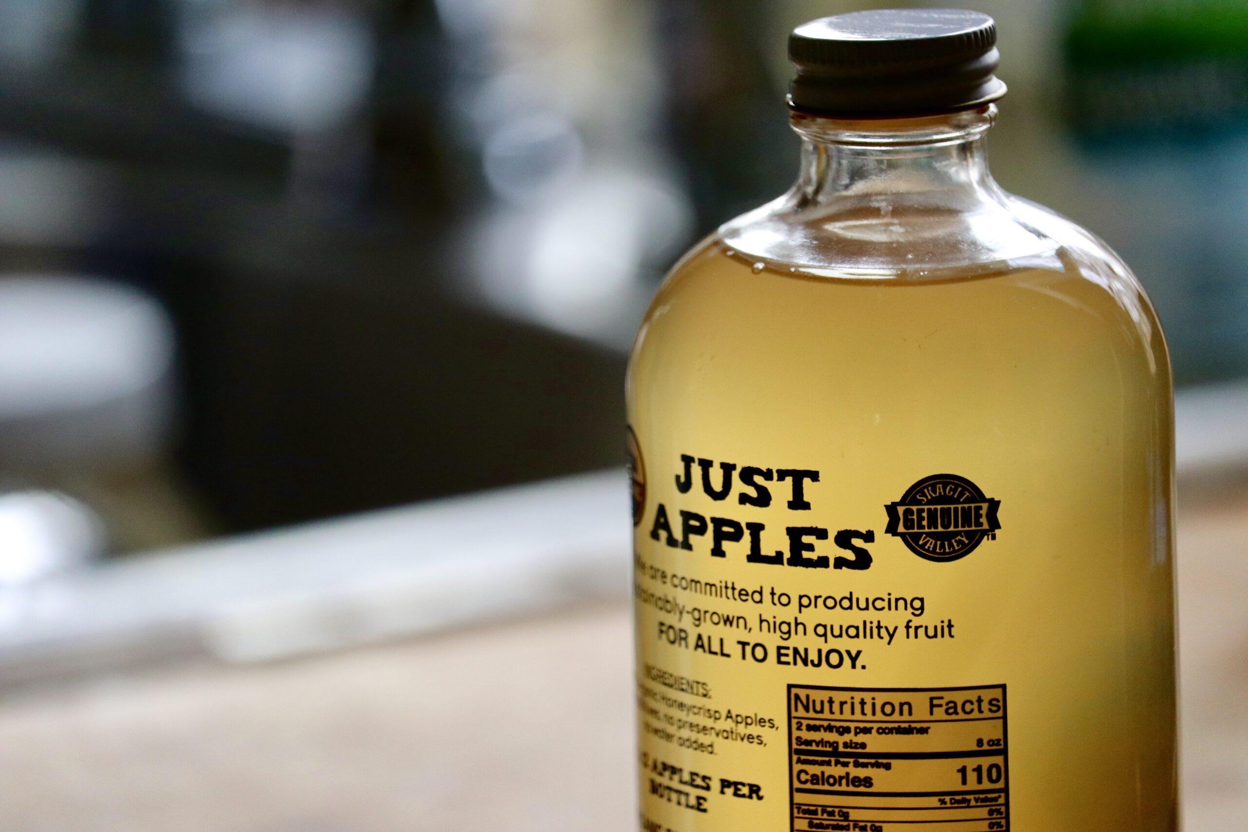 The Genuine Skagit Valley Certification Mark on Sauk Farm Apple Cider